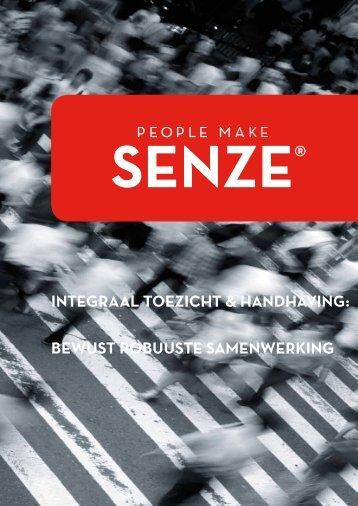 INTEGRAAL TOEZICHT & HANDHAVING: BEWUST ... - Senze