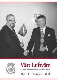 Vårt luftvärn nr 3-4/2002 - Luftvärnsförbundet
