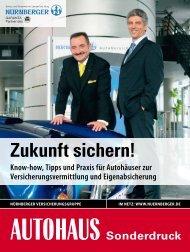Zukunft sichern! - Auto Service Praxis