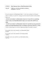 21 501-02 Raad Algemene Zaken en Raad Buitenlandse ... - Liigl