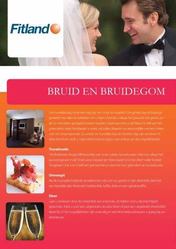 Klik hier voor onze bruidsarrangementen. - Fitland