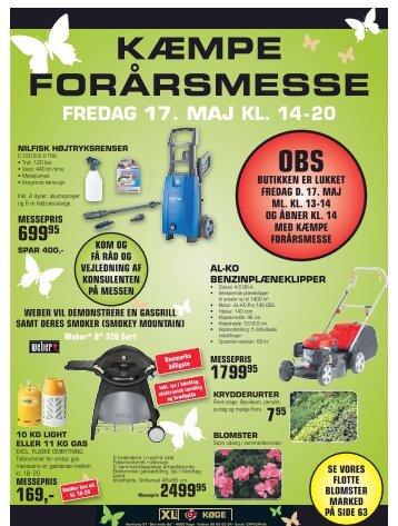KÆMPE FORÅRSMESSE - CF Petersen & Søn A/S - XL-Byg