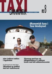 Økonomisk kaos i Taxa Vendsyssel - TaxiDanmark