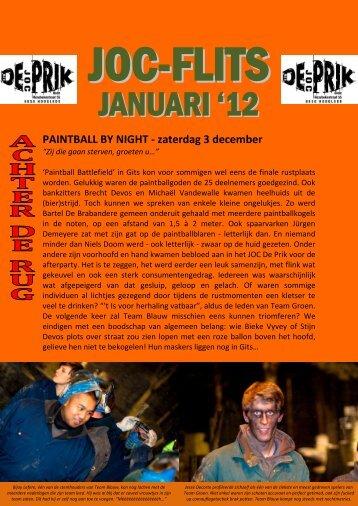 JANUARI'12 - JOC De Prik