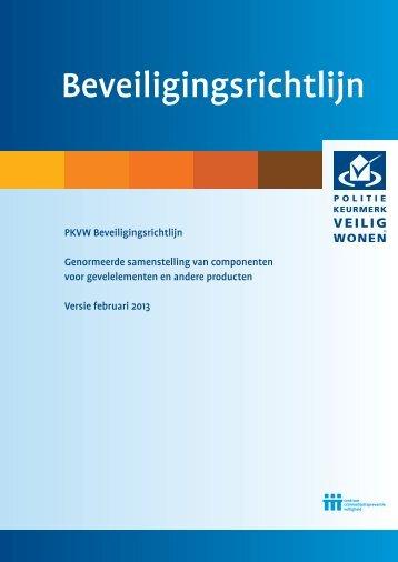 Beveiligingsrichtlijn Februari 2013