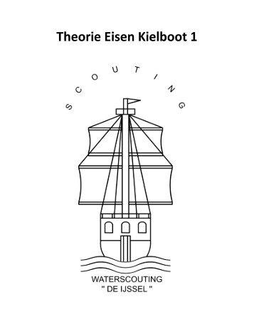 download deze handleiding in pdf - Theorie Eisen Kielboot 1