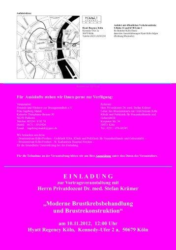 Weitere Informationen - Klinik und Poliklinik für Frauenheilkunde ...