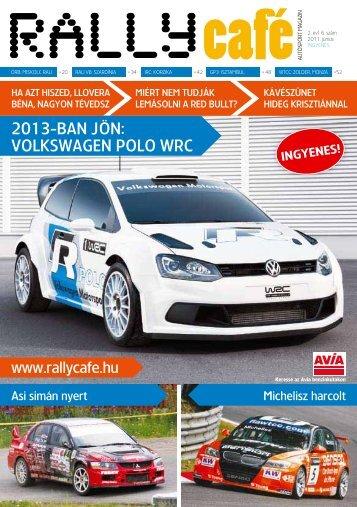2013-BAN JÖN: VOLKSWAGEN POLO WRC - Rally Café