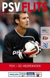 Klik hier om de PSV Flits van PSV - sc Heerenveen te downloaden