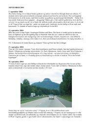 SEPTEMBER 2004 3. september 2004 Den første fredag ... - kainet.dk