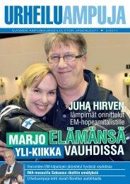 urheiluampuja 2-2011.pdf - Suomen Ampumaurheiluliitto
