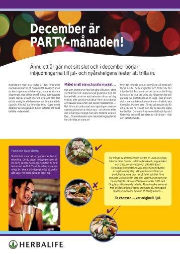 December 2003 - Köp Herbalife Produkter