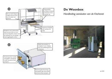 Installatie handleiding Kitchenet - Woonbox