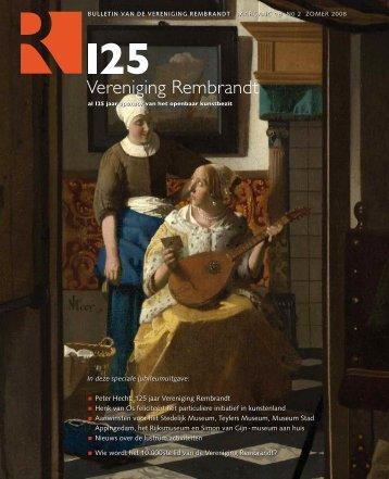jaargang 18 bulletin no.2 (2008) Peter Hecht - Vereniging Rembrandt