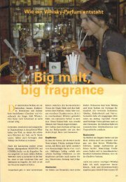 Whisky-Parfum Artikel - Bibi-Creation