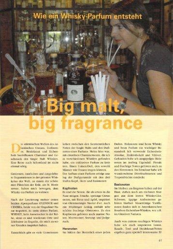 Whisky-Parfum Artikel - Bibi-Creation