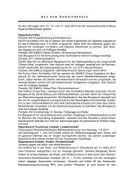 Bericht vom 10.,11. und 17. April 2013 - Bever