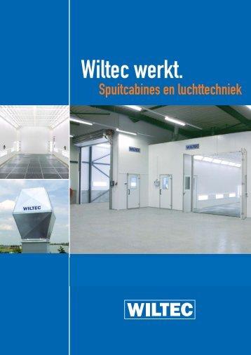 Brochure spuitcabines en luchttechniek - Wiltec
