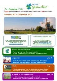 Groene Flits 282 - Stichting Groene Hart