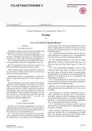 Forslag Lov om hold af slagtekalkuner - Dyrenes Beskyttelse