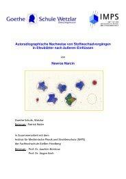 Autoradiographie gesamt - Wetzlar - Fachverband für ...