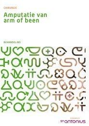 Amputatie van arm of been - St. Antonius Ziekenhuis