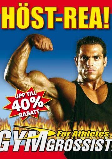 UPP TILL RABATT - Gymgrossisten