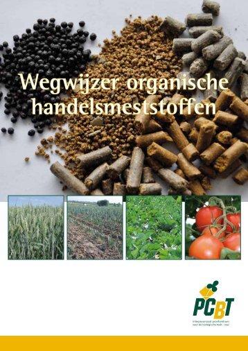 Wegwijzer organische handelsmeststoffen - Inagro