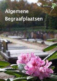 Brochure Algemene Begraafplaatsen - Gemeente Coevorden
