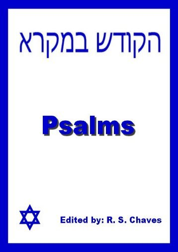 The Book of Psalms in Hebrew Language.pdf