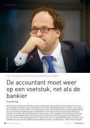 Wouter Koolmees (Kamerlid D66) - Accountancy Nieuws