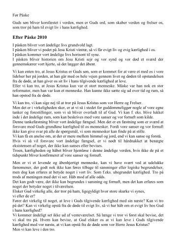 Efter Påske 2010 - Lumby sogn