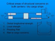 Critical area of Structural concerns on bulk carriers / dry ... - Inserve