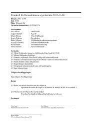 Protokoll för Datasektionens styrelsemöte 2011-11-08