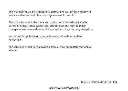 Honda Owners Manual >> Honda Msx125 Owners Manual Honda Grom Forum