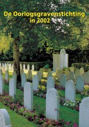 De Oorlogsgravenstichting in 2002 De Oorlogsgravenstichting in 2002