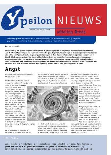 Nieuwsbrief 41 - welkom op de website van Stichting Ypsilon Regio ...