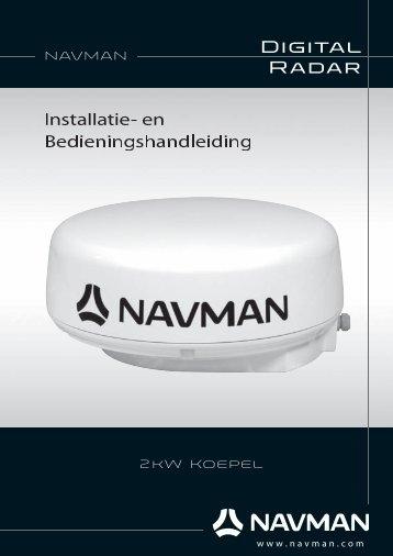 NAVMAN 2 kW Radar Installation Manual