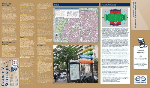 Paris, France - Scottish Football Association