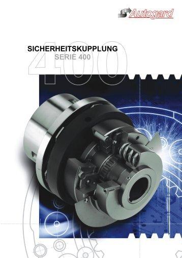 SICHERHEITSKUPPLUNG SERIE 400 - Autogard Kupplungen Gmbh