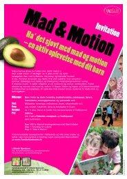 Ha' det sjovt med mad og motion – en aktiv ... - Familieakademiet