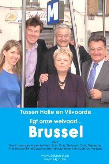 Tussen Halle en Vilvoorde ligt onze welvaart ... - Brussels Blauw