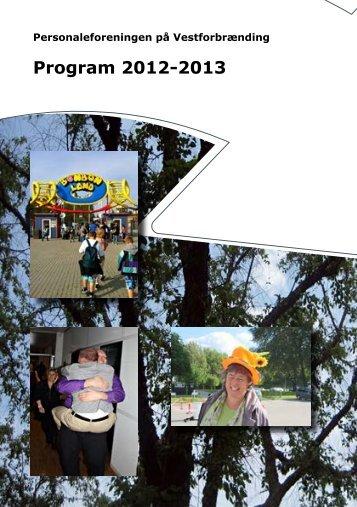 Personaleforeningens program 2012-2013 - HR Nyansat
