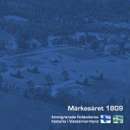 Märkesåret 1809 - Sundsvalls gymnasium