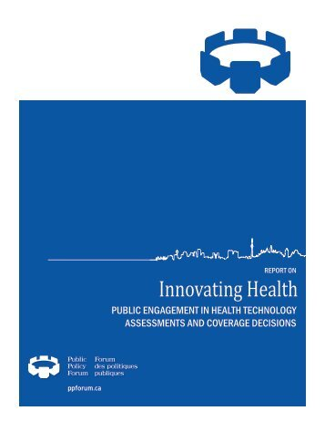 Report - Public Policy Forum