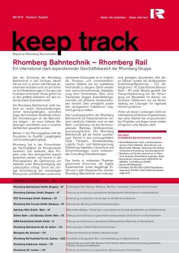 Rhomberg bahntechnik – Rhomberg Rail