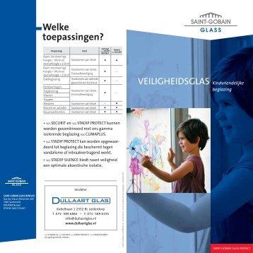brochure safety glass - Dullaart Glas