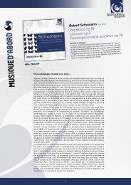 Voir le texte de présentation complet (pdf) - Harmonia Mundi