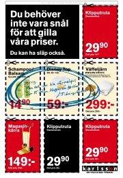 Klipputruta - Karlssons