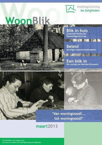 WoonBlik - Woningstichting de Zaligheden